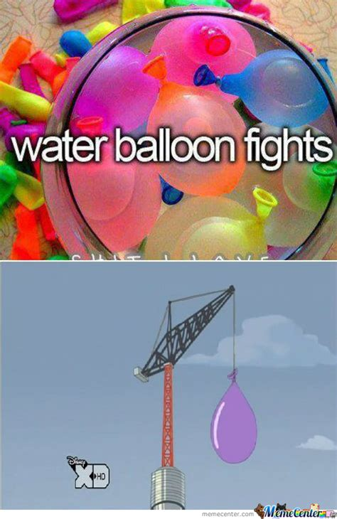 Balloon Memes - water balloon fights by lucas burchardt 9 meme center