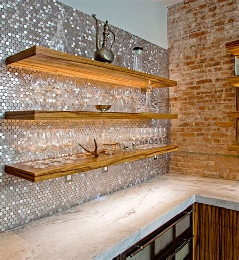 Bar Backsplash Ideas bar backsplash and shelves redo remodel renovate