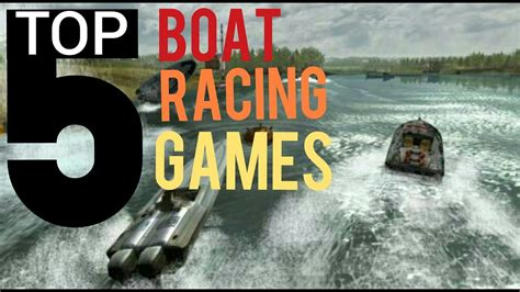 speed boat racing games for android top 5 boat racing games for android ios in 2018 youtube