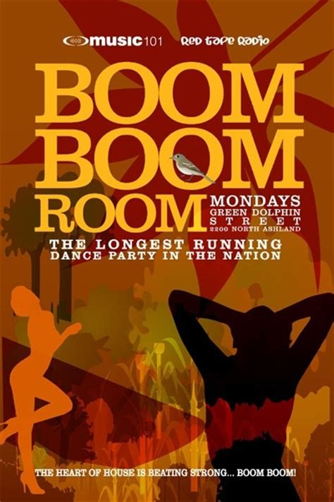 in the boom boom room boom boom room mondays at green dolphin in chicago