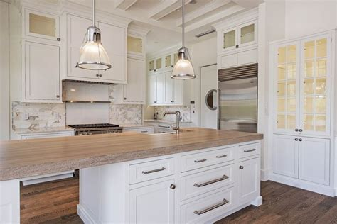 Finishes For Wood Countertops by Driftwood Finish Butcher Block Countertop Kitchen