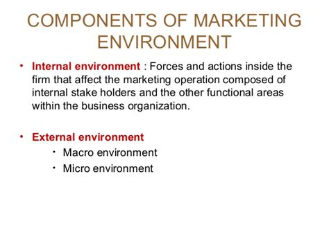 Business And Environment Notes For Mba by Mba I Mm 1 U 2 2 Marketing Environment