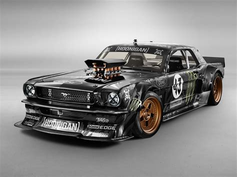 ford block 845hp 1965 ford mustang awd is ken block s car for