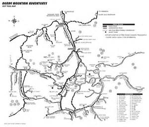 colorado 4x4 trail maps ouray trail map ouray co map ouray mountain adventures
