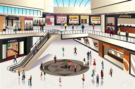 At The Mall by Mall Clipart Www Pixshark Images Galleries With A