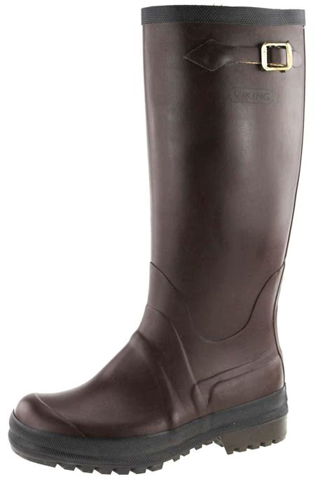 trendy boots for viking sport rubber boots a trendy brown wellington boot