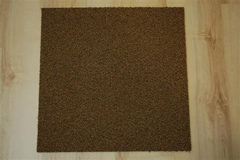 teppich b1 teppich fliesen tweed 50x50 cm b1 balta 809 braun ebay