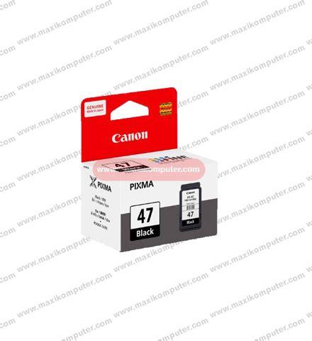 Tinta Printer Canon Pg 47 cartridge canon pg 47 black