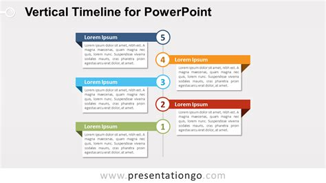 Vertical Timeline Diagram For Powerpoint Presentationgo Com Timeline Templates For Powerpoint