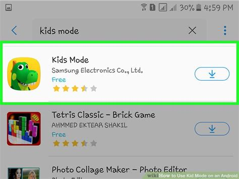 kid mode android how to use kid mode on an android with pictures wikihow