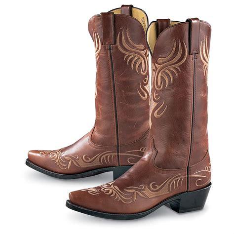 mens durango boots s durango boot 174 western stitch cowboy boots brown