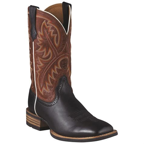 s ariat 174 11 quot quickdraw western boots 216113 cowboy