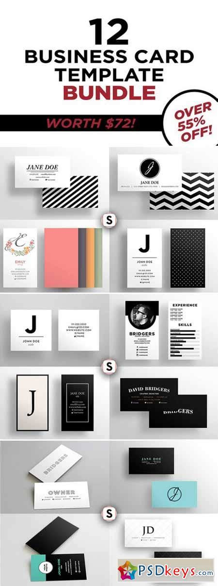 Business Card Template 12 by Business Card Bundle 12 Templates 428249 187 Free