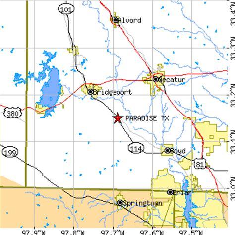 paradise texas map paradise texas tx population data races housing economy