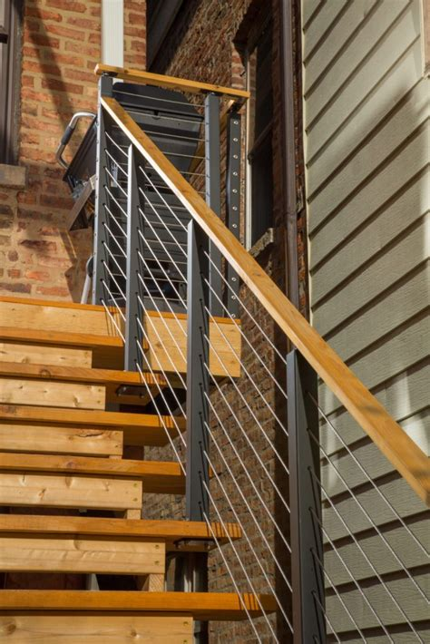 Cable Banister by Project 96 Cable Railing Decks Stairsupplies