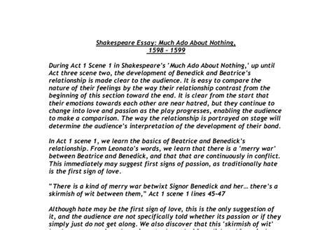 Macbeth Deception Essay by Much Ado About Nothing Essay Deception Much Ado About Nothing The Literature Network