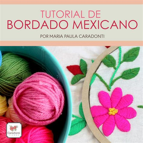 tutorial de c tutorial bordado mexicano on line