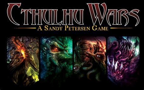 How To Play War by Cthulhu Wars Petersen Games