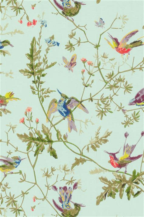 Wallpapers For Home Interiors cole amp son hummingbird wallpaper homewares and home