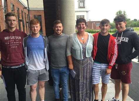 mark rowley limerick st munchins college leaving cert students jump for joy