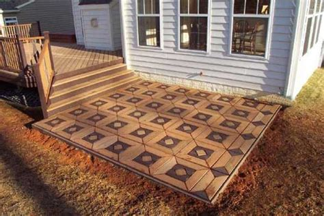 Backyard Floor Ideas 22 Composite Flooring Ideas To Bring Contemporary Style Into Outdoor Rooms