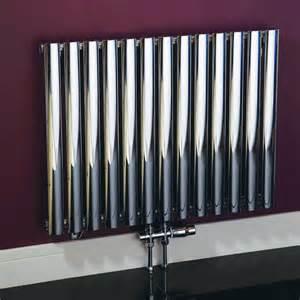 Modern Water Radiators Louise Chrome Designer Radiator Uk Bathrooms