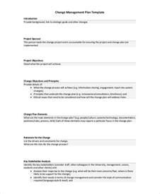 project change management plan template sle change management plan 8 exles in word pdf