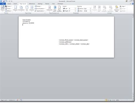 how to create a mail merge envelope template in word 2013