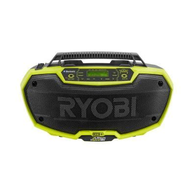 ryobi one 18 volt hybrid stereo with bluetooth wireless