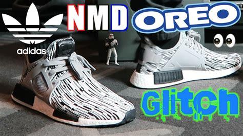 Nmd Xr1 Glitch Oreo adidas nmd xr1 oreo glitch primeknit on