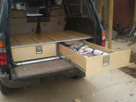truck bed drawer system not just for trucks great idea for my hatchback drawer