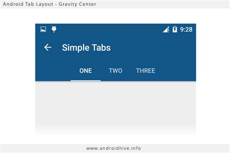 android tabs android material design working with tabs