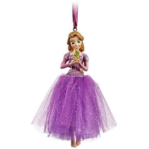 new disney store rapunzel pascal tangled christmas