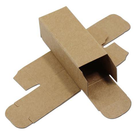 Cardboard Paper Craft - 50pcs small brown kraft paper cardboard box diy craft