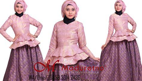 Setelan Ceruty Dan Tenun Printing songket dian pelangi archives wedding dress muslimah