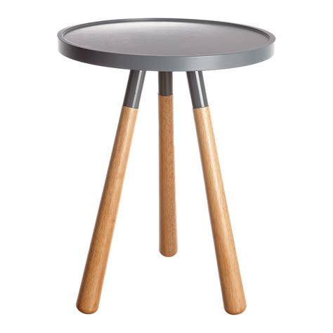 Side Table And Stool by Orbit Side Table Grey Modern Stool Table