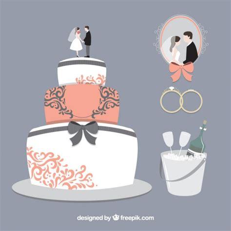 Wedding Cake Vector by Delicious Wedding Cake Vector Free