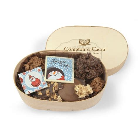 chocolats no 203 l assortiment comptoir du cacao boite en