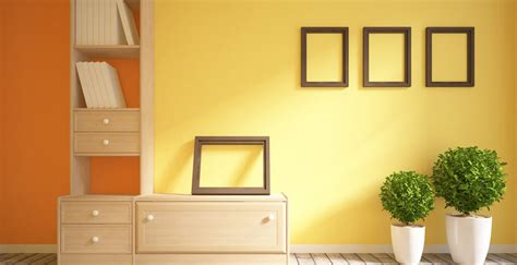 yellow colour shades ideas for interior wall paint berger
