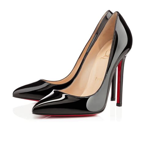 Shoes Christian Louboutin Po229 pigalle 120 black patent leather shoes christian louboutin