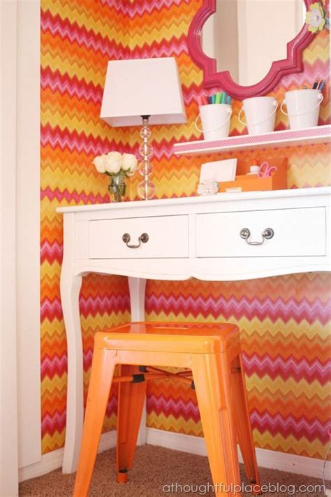 5 ways to get this look wallpapered laundry room