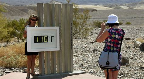 Valley Heat Record Heat Wave Temperature Could Hit 130 Degrees In Valley Latimes