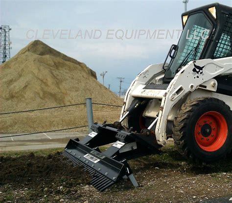 landscape rake attachment loegering eliminator