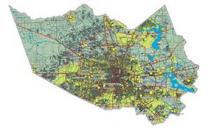 maps harris county map