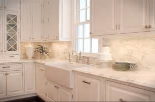 Backsplash Ideas For White Kitchens Kitchen Tile Backsplash Ideas With White Cabinets