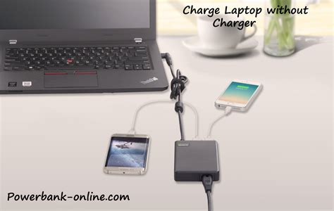 how to charge a laptop without its charger how to charge a laptop battery without a charger