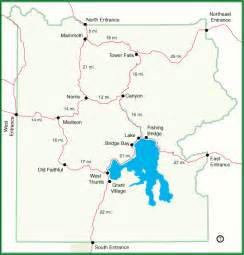 us national parks interactive map montana vacation map of the pullouts in lamar