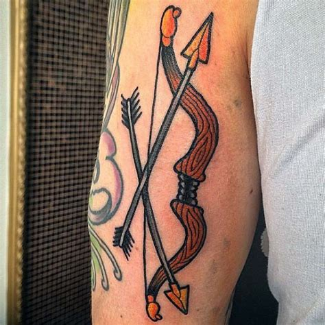 tribal bow and arrow tattoo 50 archery tattoos for bow and arrow designs