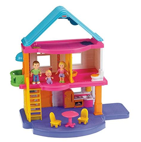 doll house play set fisher price my first dollhouse playset new ebay