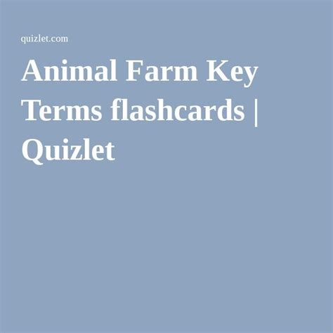 animal farm themes quizlet 17 best images about animal farm on pinterest summary